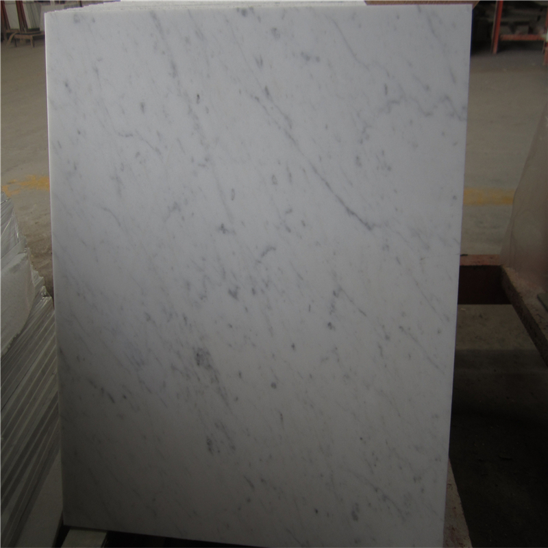 Carrara marble quarry,polished marble tiles,white and grey