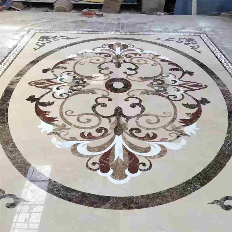 marble mosaic floor tile,waterjet desktop,cheap tile medallions,used water jet table,2 x 2 tile medallions,marble mosaic backsplash,compass floor tile,exterior stone medallions