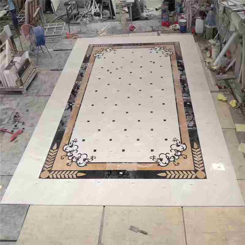 compass rose tile floor medallion,backsplash medallion ideas,entryway floor medallions,omax waterjet,tile medallions for shower,marble inlay flooring patterns
