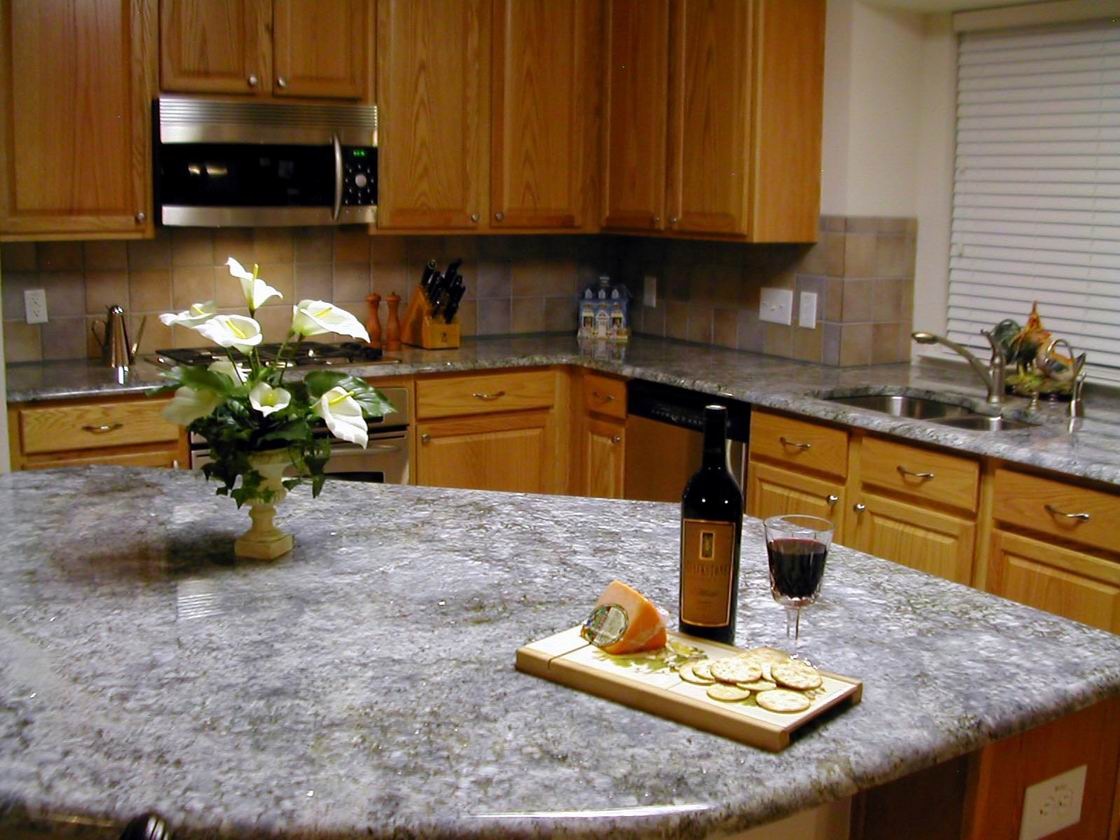 Why do European and American kitchens like to use granite countertops?---This is the answer