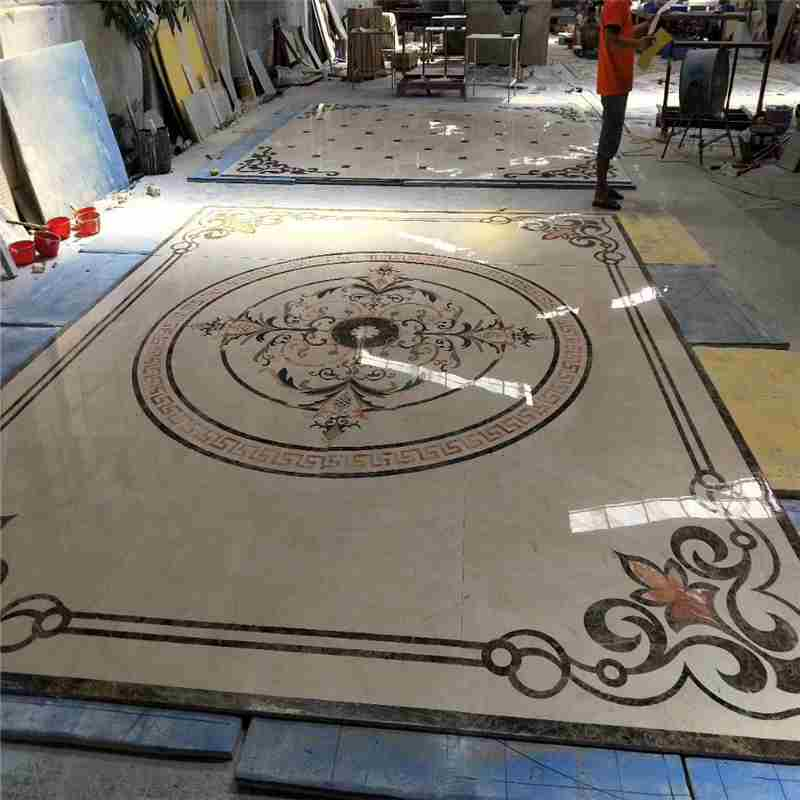 discount tile medallions,granite medallion,compass floor medallion,marble floor polish,square medallion,tile medallions for kitchen backsplash,water jet marble medallion