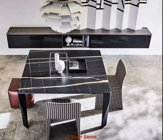 The marble table is essential decoration for home
