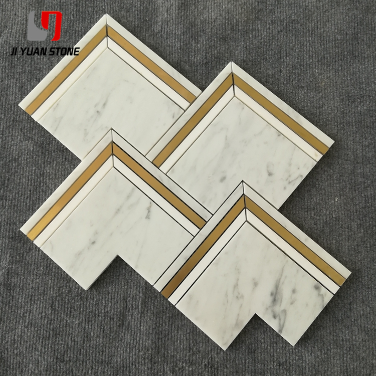 Why can't marble mosaic tile floor become popular in China?