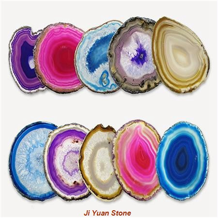 agate pieces green agate coasters,agate coasters wholesale polished agate slices small agate slices,purple agate slice agate rocks for sale blue agate slices bulk