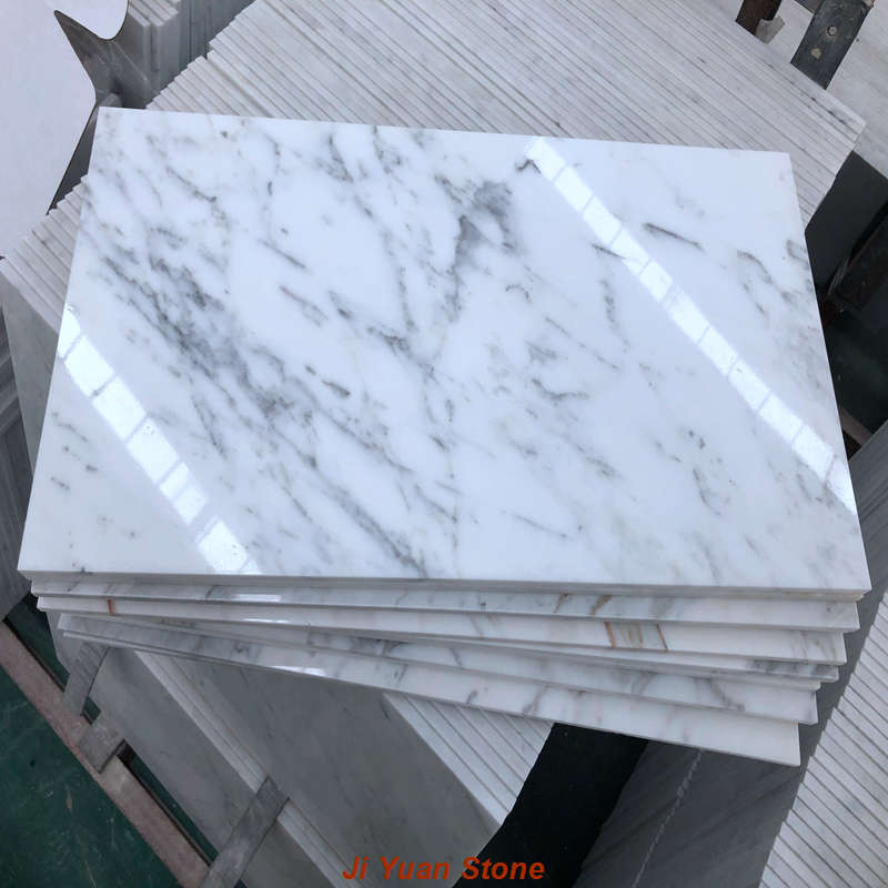 How to measure the polishing effect of white marble colors?