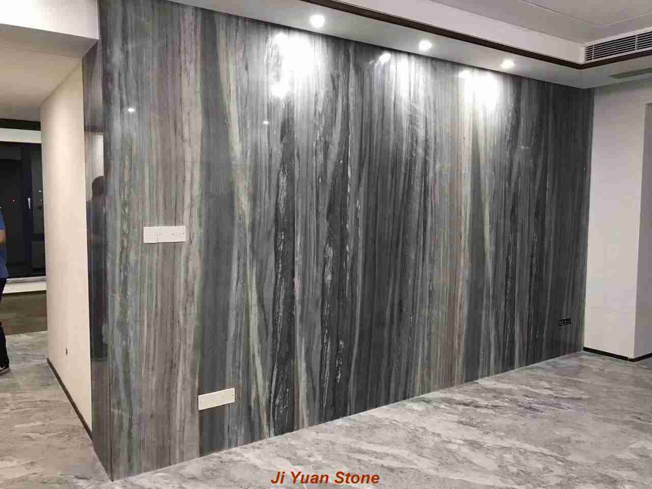 Discount marble tile seamless processing construction process