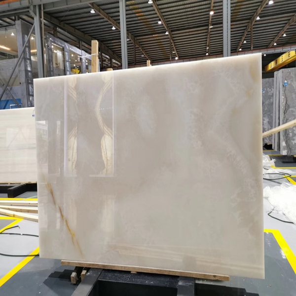 White snow onyx marble stone jade slab tile basin sink table top translucent price afghan floor flooring for the project of house and hotel