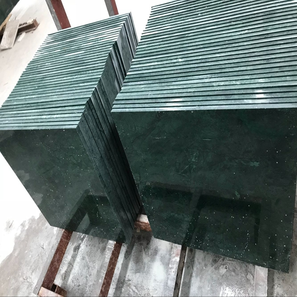 Sukabumi stone indian green marble pool tiles prices pedra hijau verde chinese supplier manufacturer