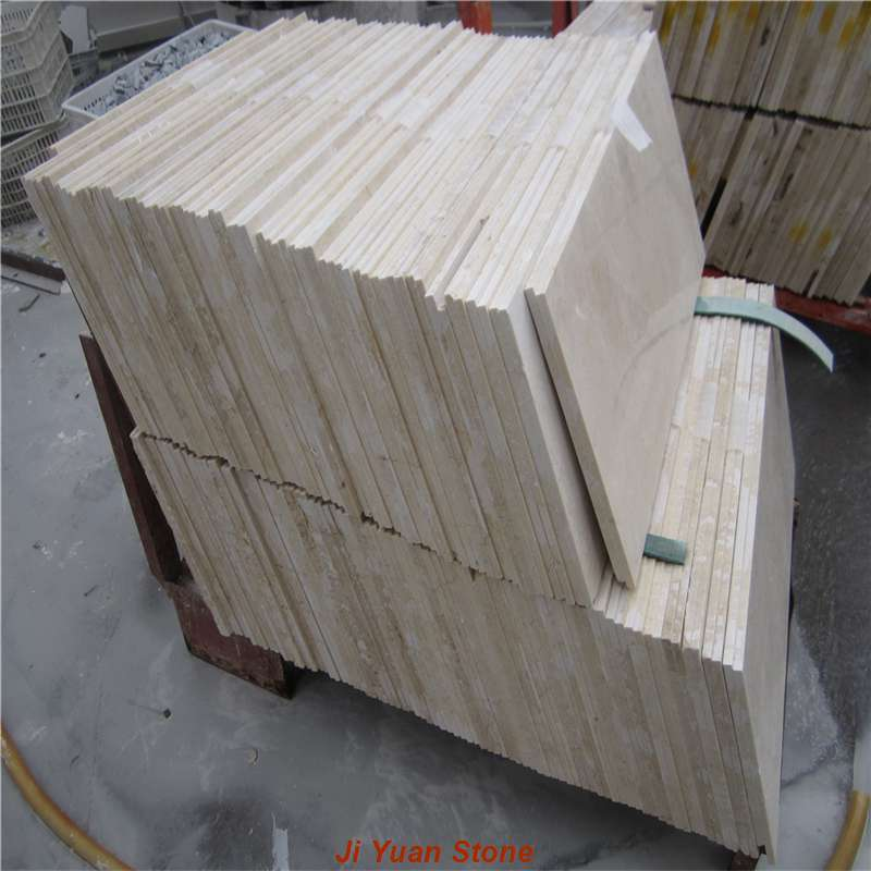 Introduction of crema marfil marble tile seamless splicing method