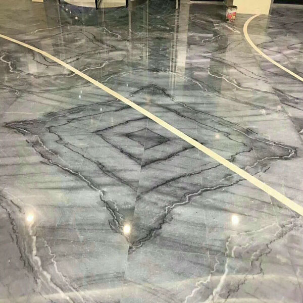 Bruce grey marble gray bookmatched stone slabs and tiles for the flooring,wall countertop of residence and hotel project