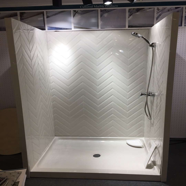Do you know cast marble shower panel?